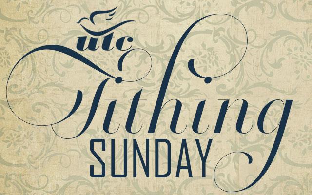 Tithing Sunday