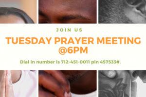 U T `C prayer Meeting
