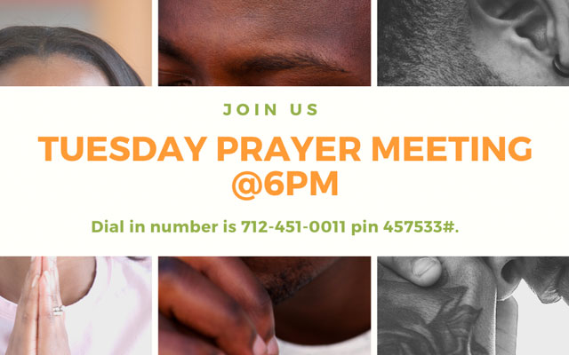 U T `C prayer Meeting