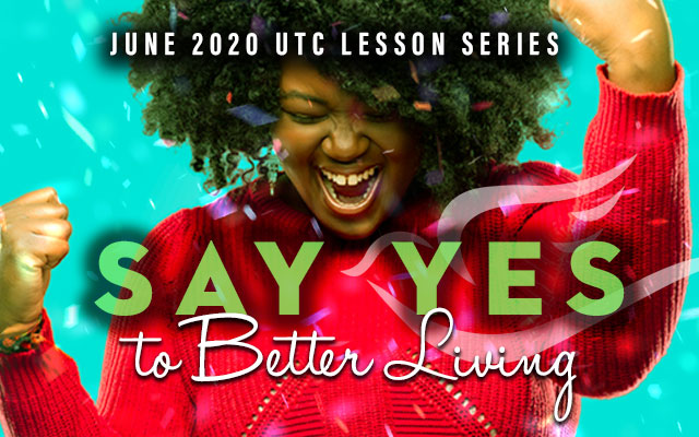Say Yes to Better Living in June 2020 calendar art