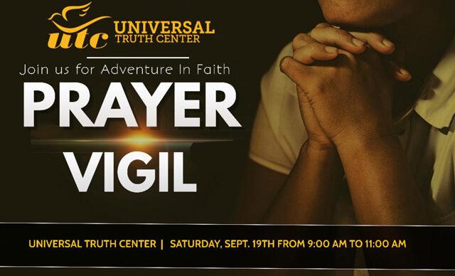 Septemeber 19th 2020 Prayer Vigil