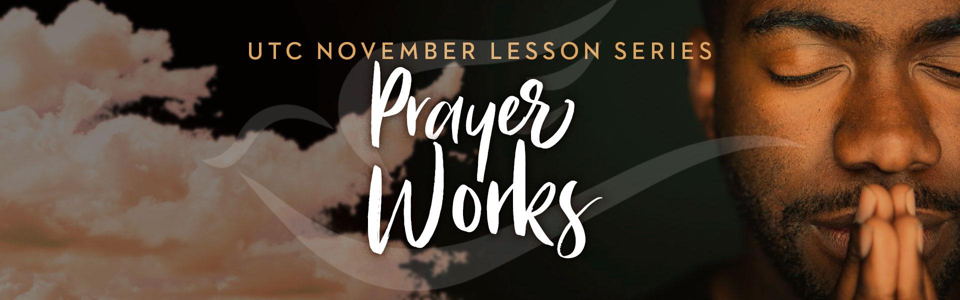 November 2020 Lesson banner