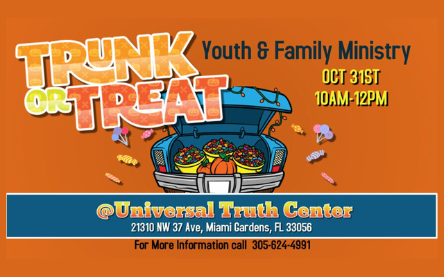 trunk or treat October 31, 2020