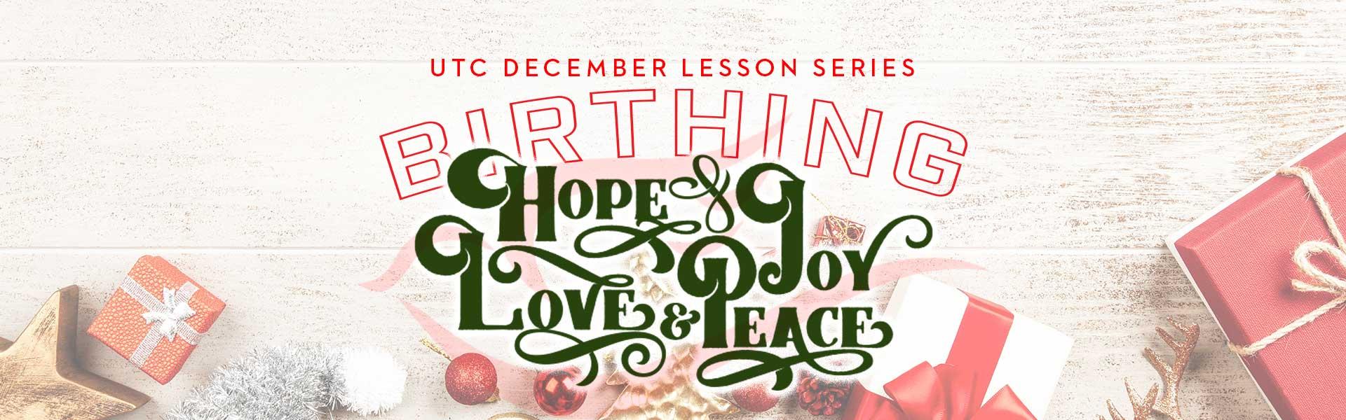 december lesson banner
