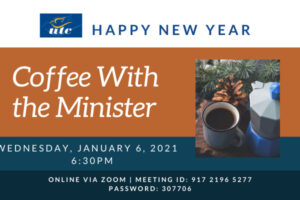 January 2021 coffee chat