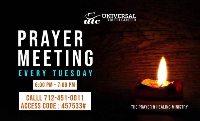 2020-21 Prayer Meetings