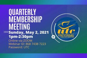Quarterly Membership meeting May 2021