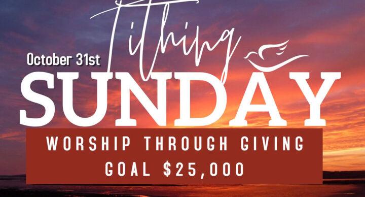 2021 Tithing Sunday Goal